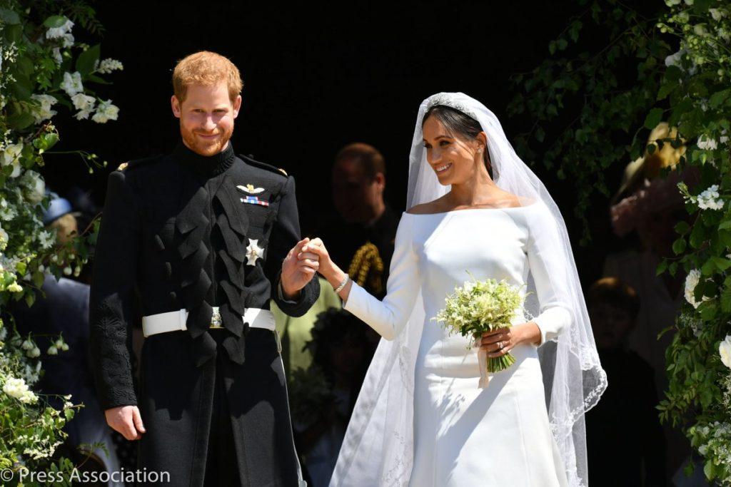 5c37305885 Tajemnice sukni ślubnej Meghan Markle. ślub Meghan Markle i księcia Harrego