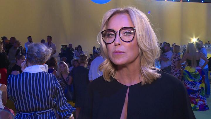 Agata Młynarska - zdjęcie z konferencji prasowej /Ilustracja do tekstu: Agata Młynarska o rozwodzie: Byłam na zakręcie