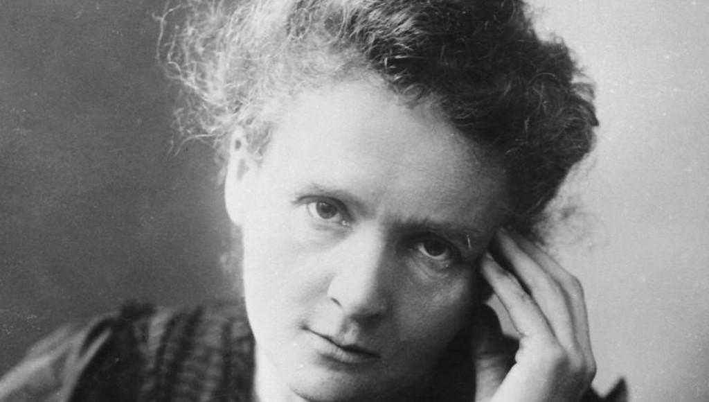 Czarno-białe zdjęcie: Maria Skłodowska-Curie