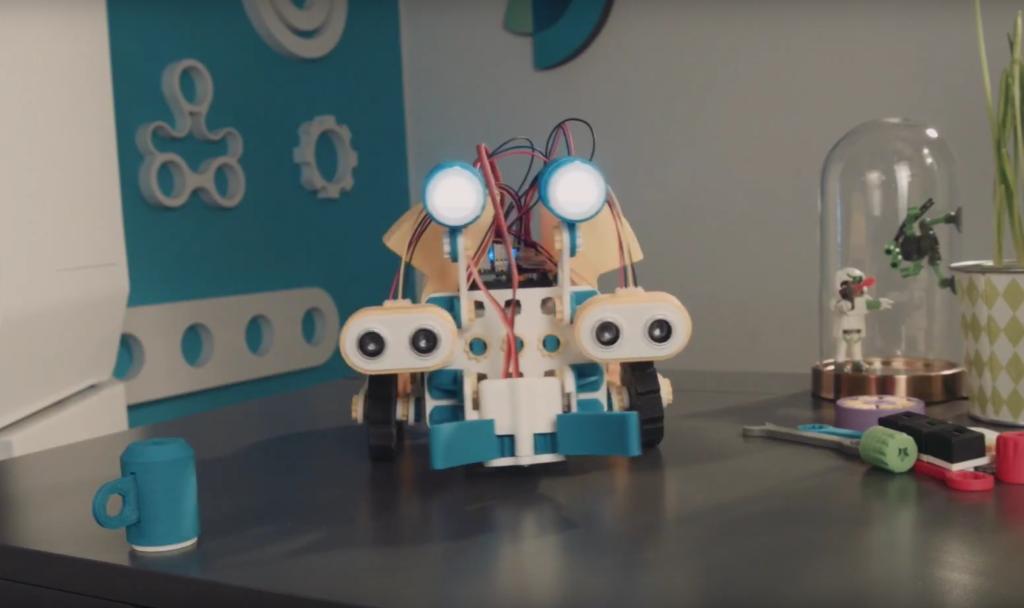 Elementy robota Skriware /Ilustracja do tekstu: Destination: Mars. Skontruuj robota i wyrusz w kosmos