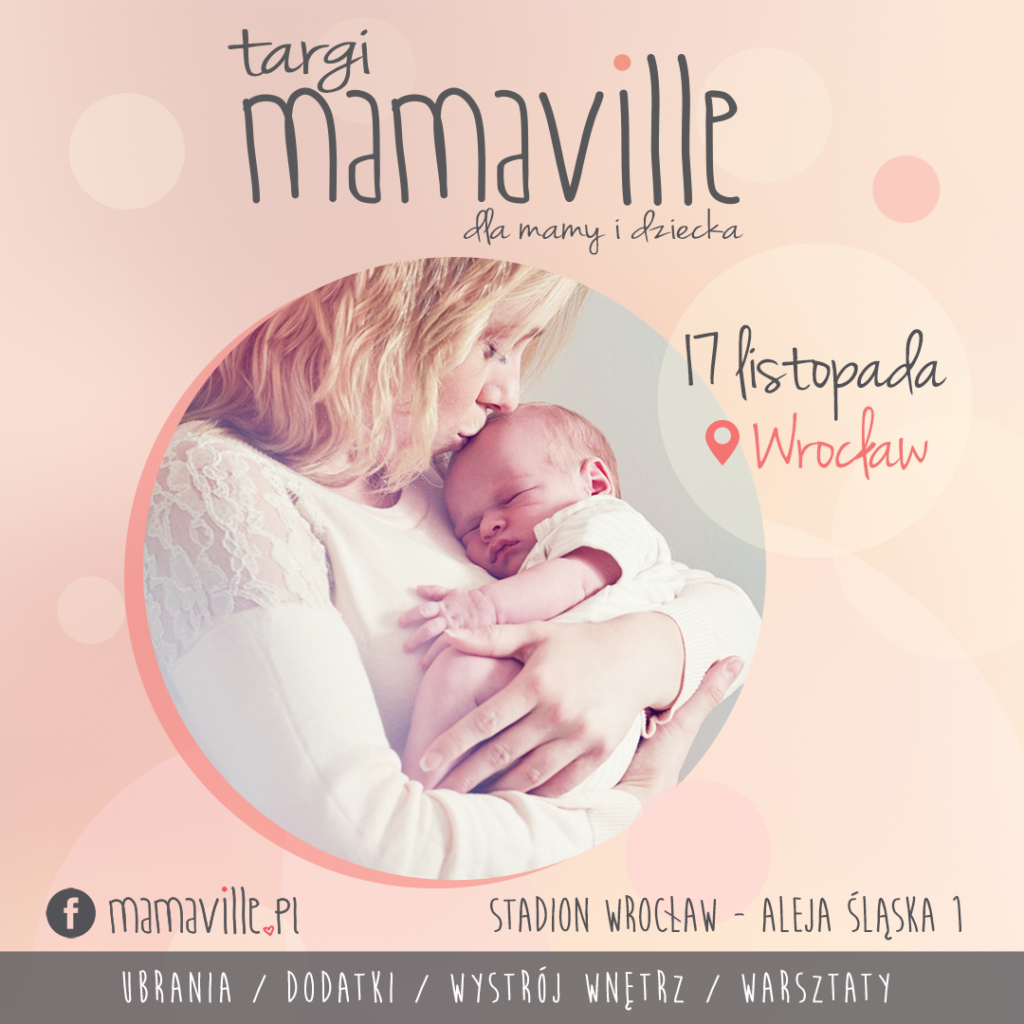 Targi Mamaville WR09 - baner sm kwadrat
