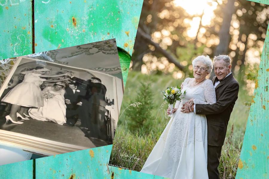 sesja na 60-lecie ślubu