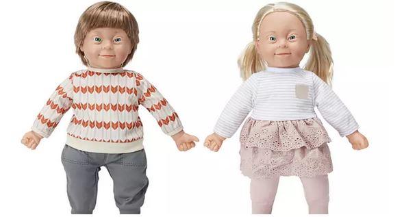 lalki z zespołem Downa