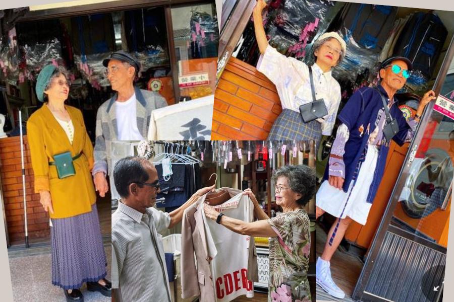Mają 80 lat i podbijają Instagram! Para @wantshowasyoung z Tajwanu
